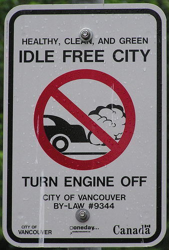 idle free van DO NOT IDLE with no purpose: several facts related to this bad habit