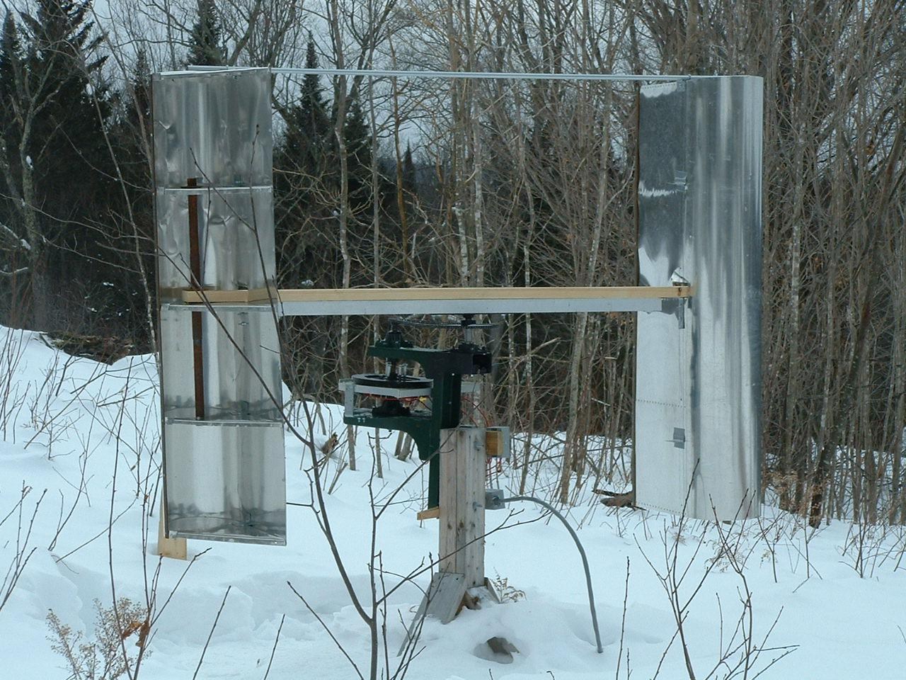 DIY vertical wind turbine: how to build a wind turbine with a vertical axis of rotation 2