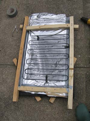 How To Make A 5 Solar Water Heater From Junk Fridge The