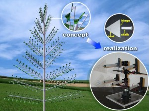 "piezo tree 1 pmPls 69 300x225 Energy Harvesting ""Piezo tree"" to Produce Renewable Energy"
