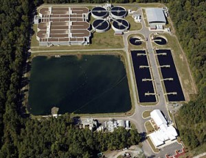 wastewater treatment plant 300x231 SunPower Helps Sewage Treatment Plants Get Self Sustaining