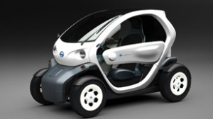 Nissan Has Recently Exhibited A New Concept Car Two Seater Electric Vehicle That Is Very Similar To Go Cart And Known As Mobility
