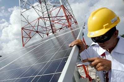 India To Install Solar Powered Cell Phone Towers The