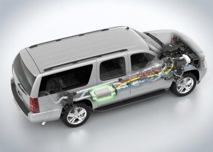 thermoelectric gm suv 300x215 BMW, Ford, GM to Test Thermoelectric Devices on Real Cars This Summer