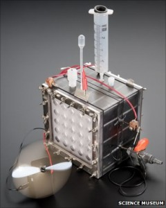 microbian fuel cell london museum 240x300 New Microbial Fuel Cell Generates Hydrogen in Self Sustaining Fashion