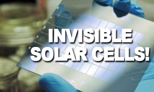 Invisible-Solar-windows
