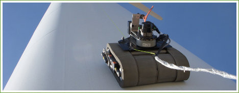 robots wind power