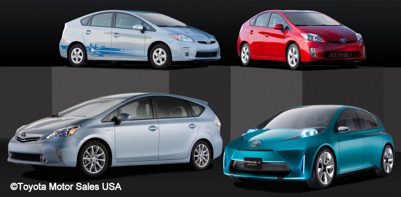 Toyota Prius Family