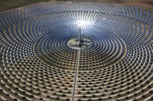 Concentrating Solar Power Plant in Spain