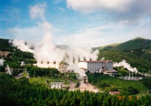 Hacchobaru Geothermal Power Plant 300x211 Geothermal Power a Possible Solution for Japan's Energy Crisis