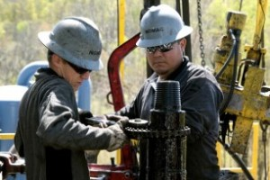 nat gas chesapeake drillers 306x204 300x200 Oil Companies May Shift from Recycled Water to Saltwater