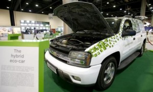 Chevy Tahoe Outfitted with GORD's Hybrid System
