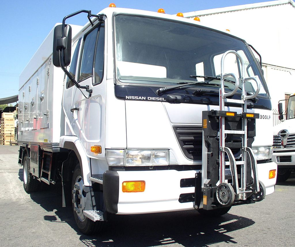 """Just imagine this Nissan reefer without that nasty """"Diesel"""" tag."""