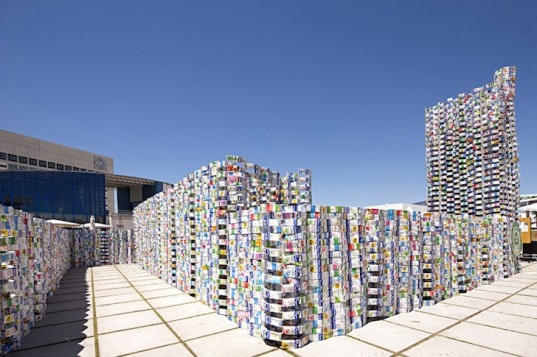 Tetrabrik Pavilion Guinness World Record for 45,000 Milk Carton Tetra Brik Pavilion
