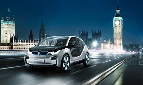 The BMW i3 electric car, due to launch in 2013