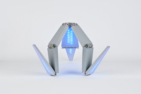 lenka Shape Changing Solar Lamp is a Robot Claw Look alike