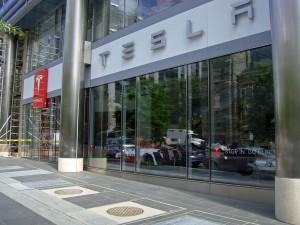 Tesla Motors Store in Washington, DC