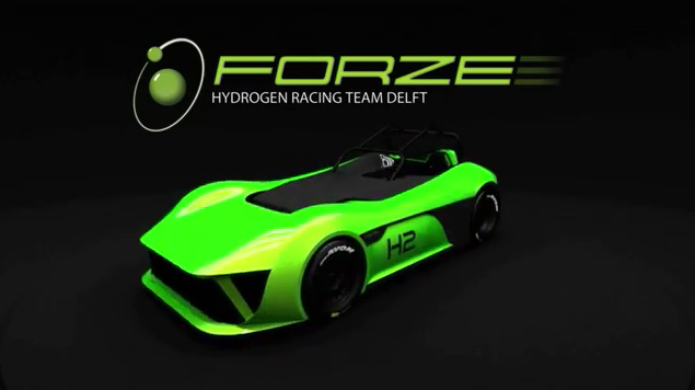 Forze VI Hydrogen Fuel Cell Race Car - Could be Certified to Run the Caterham Cup in Denmark