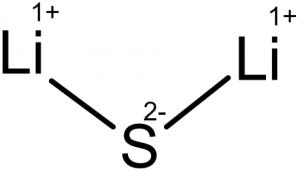 Lithium Sulfide - Cheaper than Lithium-Ion
