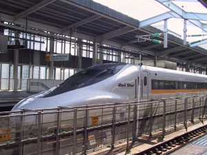 Shinkensen Series 700 Railstar Bullet Train in Japan