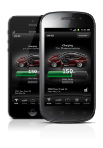 Tesla Model S Smartphone App Communicates with Your Model S