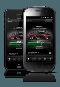 Tesla Model S Smartphone App Communicates with Your Model S