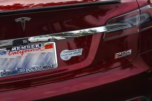 Tesla Model S in California