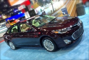 Toyota Avalon Hybrid - 40mpg Luxury Vehicle