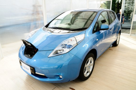 nissan leaf Worldwide Nissan Leaf Sales Hit 50,000