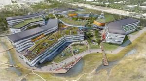 Google's New Silicon Valley Headquarters