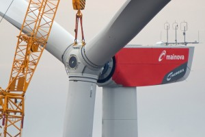 Wind Turbine Rotor Mounting in Germany