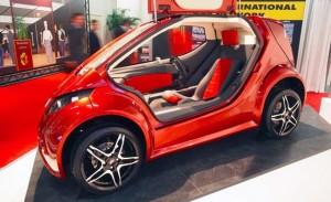 "IMA Colibri ""Hummingbird"" Revealed at the Geneva Motor Show - a Single Seater Electric Vehicle"