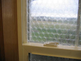How To Make A Bubble Wrap Window Insulation The Green