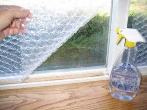 Here We Would Like To Show You How Improve Your Window Insulation By Using Bubble Wrap