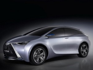 Toyota FT-HT Hybrid Vehicle Concept Inspires New Toyota Yueija for Chinese Market