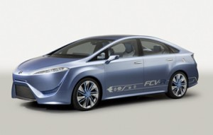 Toyota FCV-R Hydrogen Fuel Cell Vehicle Concept Could be $50,000 in 2015