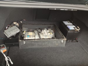 Volvo S60 Outfitted with Kinetic Energy Recovery System
