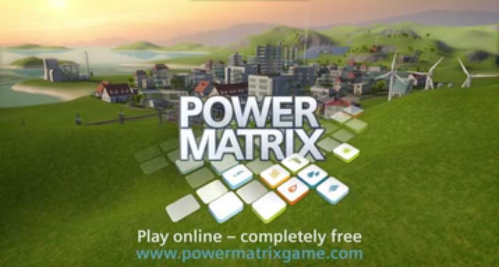 Power Matrix Game from Siemens Teaches Renewable Energy