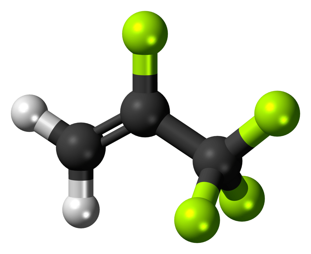 Hydrofluorocarbons, Such as R-134a, are About 3,300x More Potent than CO2 as GreenHouse Gases