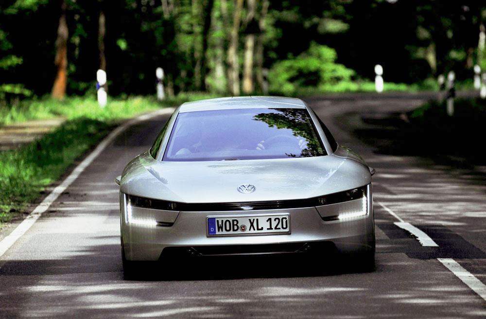 Volkswagen XL1 Diesel Hybrid Electric Vehicle >261mpg