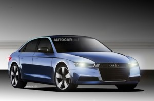 Audi A4 Plug In Hybrid Could Look Like This