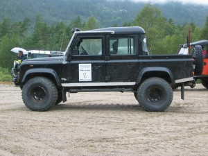 land rover electric defender 110 electric truck testing in cornwall
