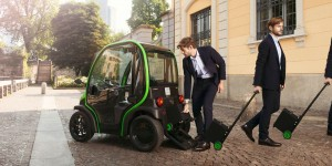 Estrima Birò Personal Electric Vehicle - You Take the Battery With You