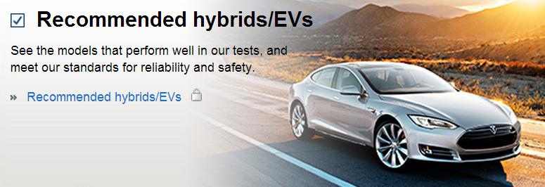 Consumer Reports Scores the Tesla Model S 99:100
