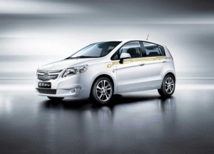Sail Springo Electric Vehicle, Soon Sold by General Motors in China