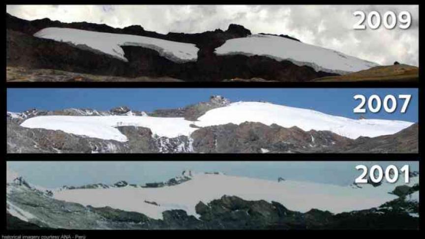 Climate Change 1   Pastoruri Glacier 0