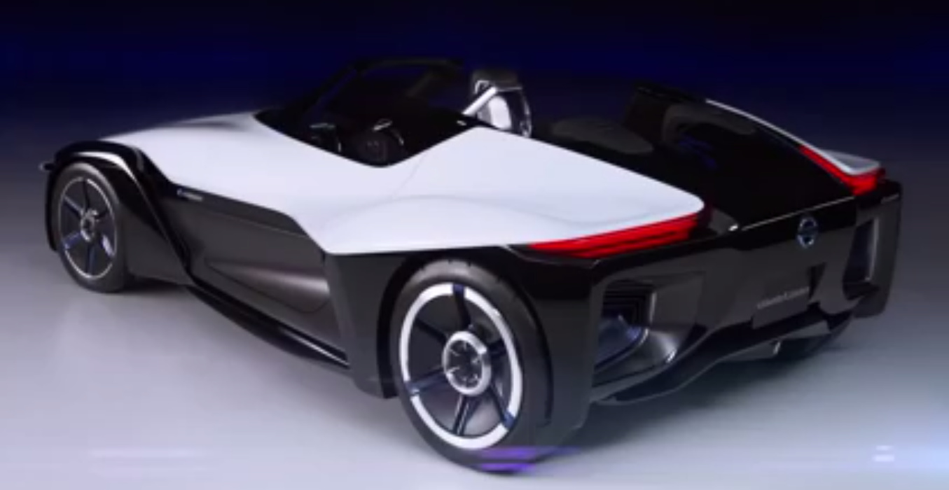 Nissan BladeGlider Supercar Electric Vehicle