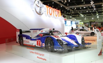 Toyota TS030 Hybrid Electric Vehicle - Supercapacitor Inside