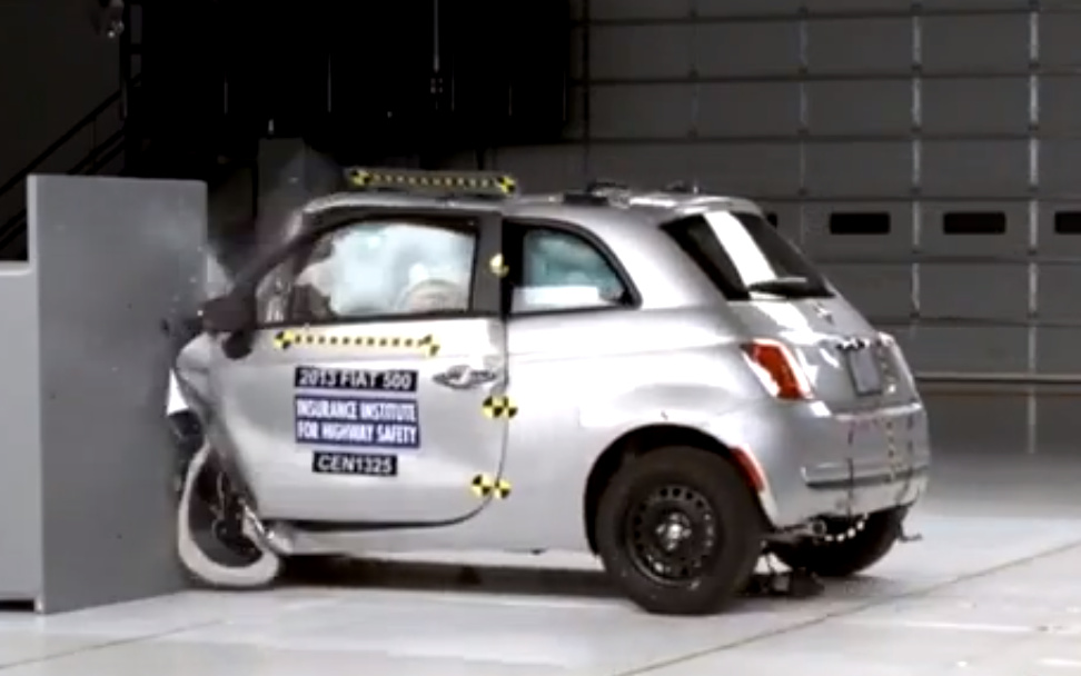 Small Cars Fare Poorly In Offset Frontal Crash Tests