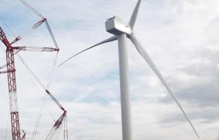 Fife, Scotland, World's Largest Wind Turbine Ready for Operation and Testing